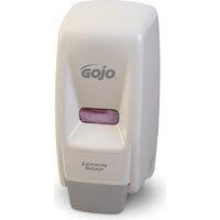 3431014 GoJo Bag-in-Box Dispenser, White, 800 ml, 9034-12