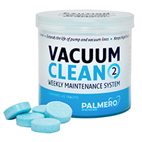 9200414 Shock and Clean Vacuum Clean, Tablets, 45/Pkg., 3547