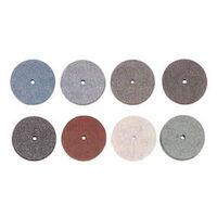 9551414 Superior Rubber Wheels Medium Soft, Lt. Gray, 100/Pkg., 1900540