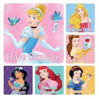 3314124 Disney Stickers Disney Princess Patient, 100/Roll, PS377