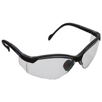 9902724 See-Breez Glasses Black, with Clear Lens, 3560BL