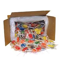 3310034 Sugar Free Lollipops Oval, Assorted, 250/Box