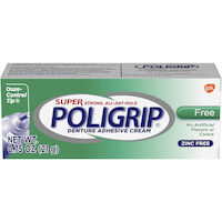 0074034 Super Poligrip Adhesive, 0.75 oz., 48/Box, 06214