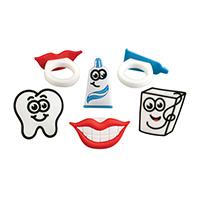 3310134 Rubbery Rings Dental Ring Assortment, 48/Pkg.