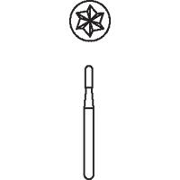 8640134 Midwest Operative Carbides FG 10/Pkg (957 - 2171) Cylinder Round End FineCrossCut, 1.2, 1958, 10/Pkg., 389558