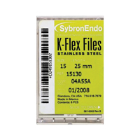 8551134 K-Flex Files #60, 25 mm, 6/Pkg., 15166