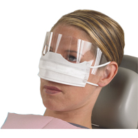 3413334 Patient Safety Mask with Shield White, 25/Box, GCPAT