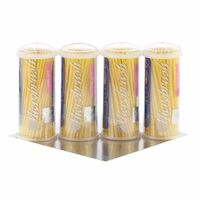 9532434 Microbrush Tube Series Fine, Yellow, 100/Tube, 4/Pkg, MFY400