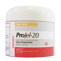 9524634 ProJel-20 Oral Anesthetic Bubblegum, 60 g Jar, 01-T0112