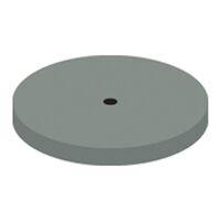 9591044 NTI Silicone Gray Super High Shine Polishers Wheel, P0321, 220, Unmounted, Gray, 10/Pkg.