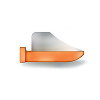 8390144 FenderWedges Small, Orange, 60/Box, TSOR