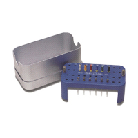 8131244 Stainless Steel Endo Stand Endo Stand, Blue, 671681