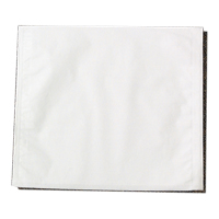 "9529344 Headrest Covers Fabricel, Poly-lined, Chayes, 10"" x 12"", White, 500/Pkg, 919515"