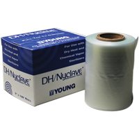 "8621744 Nyclave Heat Sealers and Accessories DH Tubing, 6"", 100' Roll, 114610"