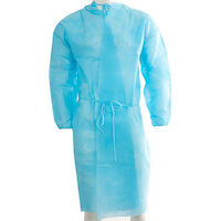 6600844 Isolation Gown Isolation Gown, 100/Pkg., Blue, ORA70039