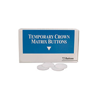 8095054 Temporary Crown Matrix Buttons Temporary Crown Matrix Buttons, 72/Box, 100