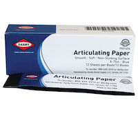 9501454 Articulating Paper XThin, 38 microns, Blue, 12Books/Box