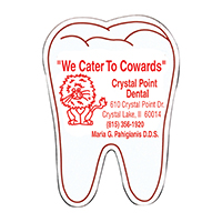 3310754 Tooth Magnets Soft Magnets, 500/Pkg., XMST