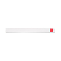 8784854 Stop Strips 8 mm, Straight, Red, 100/Pkg., 9061380