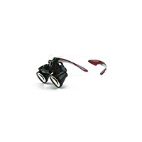 """9900954 Loupes Red Frame, 2.5x Kit, 14""""-17"""" Distance, 1-5002"""