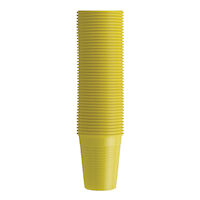 4952064 Monoart Plastic Cups Yellow, 200 ml, 100/Pkg., 21410014