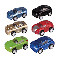 "3310164 Pull-Back Vehicles Sports Cars, 2"", 36/Pkg."