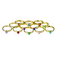 3313164 Birthstone Rings Rings, 36/Pkg., R47