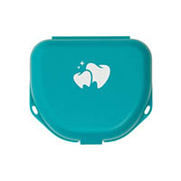 "9538264 Imprinted Retainer Boxes 1.5"", Teal, 24/Pkg., 25P550J"