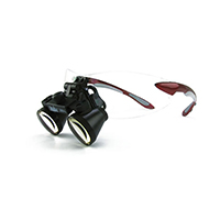 """9900964 Loupes Red Frame, 3.0x Kit, 18""""-22"""" Distance, 1-5007"""