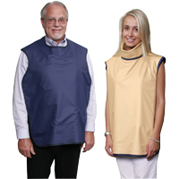8851964 Soothe-Guard Lead-Lined Aprons with Thyroid Collar, Light Blue, 6611050