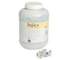 4473964 Lojic Regular Set, 2 Spill, 600 mg, Yellow/Gray, 500/Pkg, 4222303