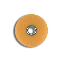 "8673074 Sof-Lex Contouring and Polishing System Fine, 3/8"" Diameter, Light Orange, 85/Pkg., 2381F"