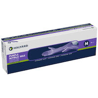 2212174 Purple Nitrile Max Exam Gloves Large,50/Box,44994