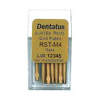9519674 Surtex Gold Plated Post Refills Medium, M-4, 9.3 mm, 12/Pkg., RST-M4