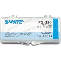 8900974 Carbide Burs RA Round, 4, Bulk, 100/Pkg., 13804