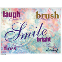3315084 Words Postcard Words Postcard, 250/Pkg., RC2688