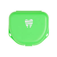 "9538284 Imprinted Retainer Boxes 1"", Neon Green, 24/Pkg., 25P500P"