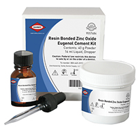 9557684 Resin Bonded Zinc Oxide Eugenol Kit