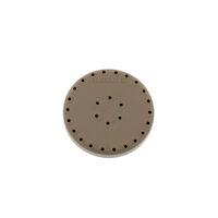 9515784 Round Magnetic Bur Blocks Beige, 28-Hole, 400BL-7
