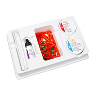 8890094 Core Paste Jar Kit, Quick Set, Enamel, 030616325