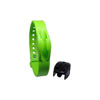 9342194 CordEze Autoclavable Wristband 7 mm, Lime Green, CE7LGRN