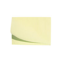 "5250594 Disposable Patient Bibs Disposable Patient Bibs,13"" x 18"",125/Pkg. ,Yellow,27402"