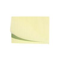 "5250594 Disposable Patient Bibs Disposable Patient Bibs, 13"" x 18"", 125/Pkg., Yellow, 27402"