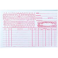 """9518694 Record Cards 4"""" x 6"""" #101 Junior, 100/Pkg."""