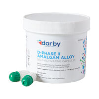 9526994 D-Phase II Amalgam Alloy Fast Set, One Spill, 400mg, Green/White, 50/Pkg