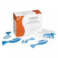 9514005 3-Way Impression Tray Intro Assortment, 40/Pkg., AD33000