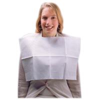 3416005 Sani-Tab Chain free Towel 2-Ply Tissue w/ 1-Ply Poly, White, 400/Pkg, WEXWHT