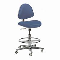 4404105 Generation Stools Assistant Stool w/Backrest, Ultra Leather, 3554-200U