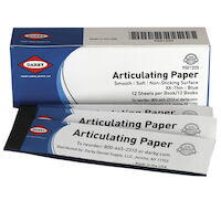 9501205 Articulating Paper XXThin, 32 microns, Blue, 12Books/Box