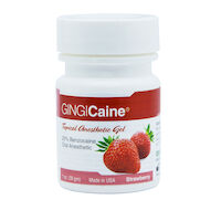 9200305 Gingicaine Strawberry, 1 oz, 20118